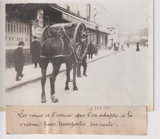 LES ROUES ET L'ESSIEU QUE L'ON ADAPTE A LA CUISINE POUR TRANSPORTER SUR  18*13CM Maurice-Louis BRANGER PARÍS (1874-1950) - Fotos