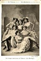 Artiste Femme 1900 - Les Darling's, Troupe Américaine De Tabarin - Acteurs