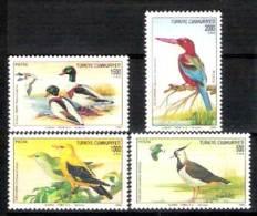 7660  Birds - Oiseaux - Turquie 2702-05  MNH - 1,75 - Non Classés