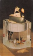 Embedments Into Lucite Tabletop Cigarette Lighter Advertisement, C1950s/60s Vintage Postcard - Advertising