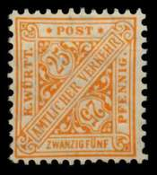 WÜRTTEMBERG DIENST Nr 232 Postfrisch X70F01A - Wuerttemberg