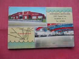 Hoffman's Skateland    Albany NY  Ref    3566 - Postcards