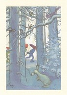 Postal Stationery - Birds - Bullfinches - Elves - Winter Landscape - Red Cross 2003 - Suomi Finland - Postage Paid - Finlande
