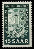 SAARLAND 1951 Nr 307 Postfrisch X7DA712 - 1947-56 Allierte Besetzung