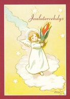 Postal Stationery - Birds - Bullfinches - Angel Holding A Flower - Red Cross 2011 - Suomi Finland - Postage Paid - Finlande