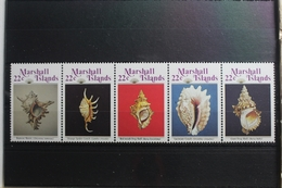 Marshall-Inseln 87-91 ** Postfrisch #SH506 - Marshallinseln