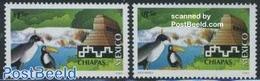 Mexico 2001 Definitives 2v, Tourism, (Mint NH), Various - Tourism - Mexiko