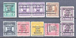 U.S. 551 +  PERF. 11   (o)  MISSOURI    1922-25 Issue - United States