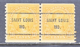 U.S. 603  PERF. 10   *  MISSOURI    1923-26 Issue - United States