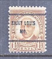 U.S. 684  PERF. 11 X 10 1/2   (o)  MISSOURI    1930 Issue - United States