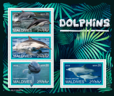 Maldives  2019 Fauna  Dolphins S201907 - Maldives (1965-...)