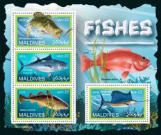 Maldives  2019 Fauna Fishes S201907 - Maldives (1965-...)