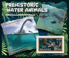 Maldives  2019 Fauna Prehistoric Water Animals S201907 - Maldives (1965-...)