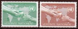 UNO Wien MiNr. 32/33 ** Welternährungsprogramm - Sonstige - Europa