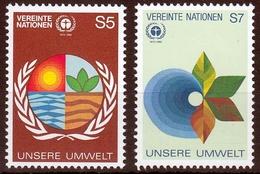 UNO Wien MiNr. 24/25 ** 10. Jahrestag Der Konferenz Der Vereinten Nationen - Sonstige - Europa