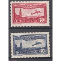 TIMBRES POSTE AERIENNE N° 5 ET N° 6 NEUFS Traces De Charnières COTE 52 Euros - 1927-1959 Nuovi