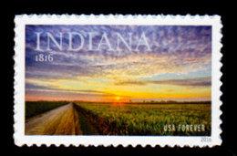 USA, 2016 Scott #5091, Indiana Statehood, Single,  MNH, VF - United States