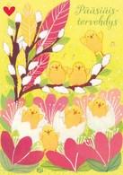Postal Stationery - Birds - Chicks - Eggs - Willows - Finnish Heart Association - Suomi Finland - Postage Paid - RARE - Finlandia