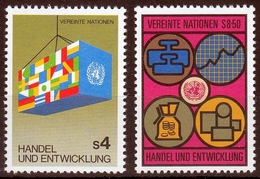 UNO Wien MiNr. 34/35 ** 6. Konferenz Für Handel Und Entwicklung - Sonstige - Europa