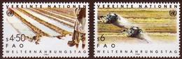 UNO Wien MiNr. 39/40 ** Welternährungstag - Sonstige - Europa