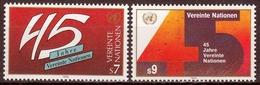 UNO Wien MiNr. 104/05 ** 45 Jahre Vereinte Nationen - Sonstige - Europa