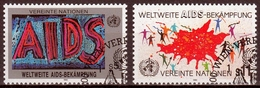 UNO Wien MiNr. 100/01 O Weltweite Aidsbekämpfung - Sonstige - Europa