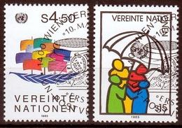 UNO Wien MiNr. 49/50 O Freimarken - Sonstige - Europa