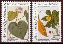 UNO Wien MiNr. 102/03 ** Heilpflanzen - Sonstige - Europa