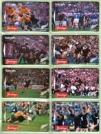 New Zealand - 1995 Steinlager All Blacks Set (8) - NZ-A-111/8 - Mint - Nuova Zelanda