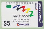 Australia - 1993 Sydney Olympic Bid - $5 Logo - VFU - AUS-M-075 (N9303) - Australia