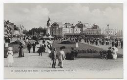 BOULOGNE SUR MER - N° 18 - LA DIGUE SAINTE BEUVE AVEC PERSONNAGES - CPA NON VOYAGEE - Boulogne Sur Mer
