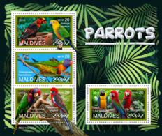 Maldives  2019 Fauna Parrots  S201907 - Maldives (1965-...)