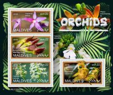 Maldives  2019 Orchids  S201907 - Maldives (1965-...)