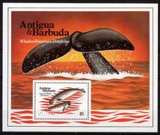 Antigua & Barbuda MiNr. Bl. 76 ** Wale - Antigua Und Barbuda (1981-...)