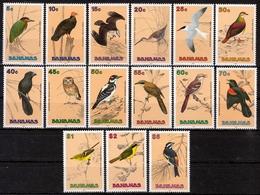 Bahamas MiNr. 737/51 ** Freimarken: Vögel - Bahamas (1973-...)