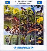 Palau MiNr. 318/37 ** Internationale Briefmarkenausstellung WORLD STAMP EXRO `89 - Palau