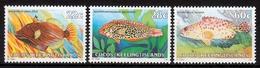 Kokos Inseln MiNr. 50/52 ** Freimarken: Fische - Postzegels