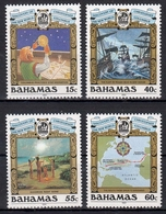 Bahamas MiNr. 752/55 ** 500. Jahrestag Der Entdeckung Amerikas - Bahamas (1973-...)