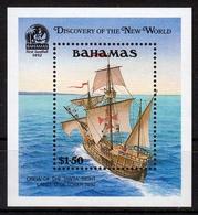 Bahamas MiNr. Bl. 64 ** 500. Jahrestag Der Entdeckung Amerikas - Bahamas (1973-...)