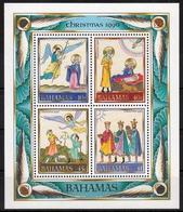 Bahamas MiNr. Bl. 63 ** Weihnachten - Bahamas (1973-...)