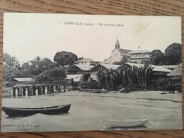 CPA, Libreville, Gabon, Vue Prise De La Jetée, écrite - Gabon