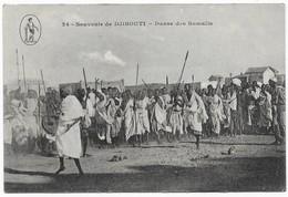 Souvenir De Djibouti Danse Des Somalis - Gibuti