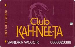 Kah-Nee-Ta Casino - Portland OR - Slot Card - Casino Cards