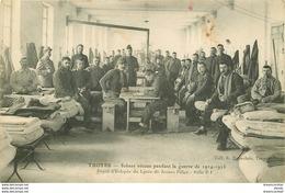 WW MILITARIA. Guerre 1914-18. Dépôt D'Eclopés Du Lycée à Troyes - Guerre 1914-18