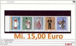 Finnland - Finland - Suomi - Finlande - Michel 710-714 - ** Mnh Neuf Postfris - - Ungebraucht