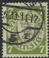 Germany, Danzig, 1933, 7pf Green,  Used - Used Stamps