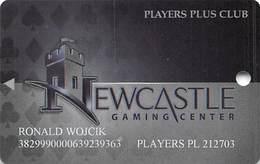 Newcastle Gaming Center Oklahoma - Players Plus Club Slot Card - Casino Cards