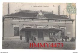 CPA - La Gare, Place Bien Animée En 1906 - CHOISY LE ROI 94 Val De Marne - N° 7 - Pas De Nom D'éditeur - Choisy Le Roi