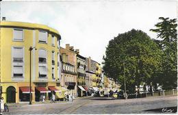 ROANNE - Les Promenades Et Rue Alsace-Lorraine - Roanne