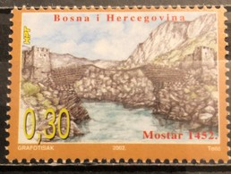 Bosnia And Hercegovina, HP Mostar, 2002, Mi: 87 (MNH) - Bosnia Herzegovina